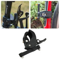 Wholesale Bicycle Water Bottle Cage Mount - Bicycle Cycling Handlebar Mount Water Bottle Cage Holder Rack Clamp ABS plastic Bike Water Bottle Cage Holder Free Shipping