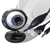 Câmera USB 30M HD com microfone 30 Mega Pixel Web Cam 6 LED Câmera Webcam HD MIC PARA PC LAPTOP