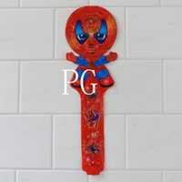 Wholesale Inflatable Balloon Stick Clappers - new arrivel !!! 100pcs lot 78*25cm spiderman cheering stick balloon clappers inflatable balloon stick