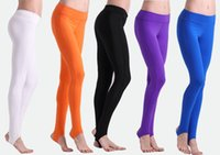 Wholesale Tights Nylons Plus Size - Popular high quality women yoga pants quick dry stepping foot elastic dance trousers breathable running, fitness tight pants S-XL
