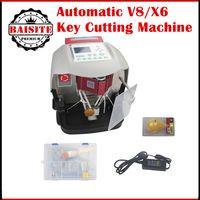 Wholesale V8 Toyota - High quality Automatic V8 X6 Key Cutting Machine free dhl Key Cutting machine v8 x6 machine from factory directly