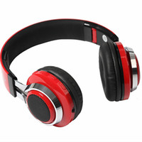 Wholesale Best Mp3 Player Headphones - Best Bluetooth Wireless Headphone LED Light Sports Foldable Headset with MP3 Player FM Radio for Smartphones