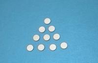 transducteur piézoélectrique à ultrasons achat en gros de-Piézoélectrique 8 * 0.8-PZT5 Piezos Disques 2.5MHz Élément Piézocéramique PZT Céramique Puce Ultrasons Transducteur Accessoires Transducteur