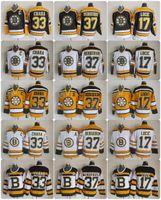c260df860 Ice Hockey Men Full Throwback Boston Bruins Hockey Jerseys 33 Zdeno Chara  37 Patrice Bergeron 17