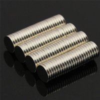 Wholesale Neodymium 6mm - 100pcs 6x1mm N35 Round Magnets Disc Neodymium Rare Earth Magnet Strong Small Fridge Magnets 6mm x 1mm