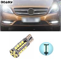 Wholesale R C Lights - BOAOSI T10 2835SMD LED Parking Lights Sidelight No Error For Benz CLS GLK E200 E260 E300 W219 W220 w202 w220 w204 w203 A C E S R