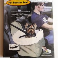 Portable Dog Car TV Pet Booster Seat Gatos Dogs Matter Companion Pet Pet Booster Seat Pet com clip-on Safety Leash Zipper Storage Pocket