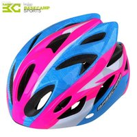 Wholesale Bike Cycling Helmet Giant Sport - Wholesale-BASECAMP MTB Cycling Helmet Giant Ultralight Road Bicycle Bike Helmet Sports Cap Hat with Removable Visor