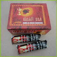 Wholesale Coal Lights - 10 rolls 100pcs for hookah bamboo shisha charcoal Quick-light coal