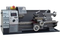 Wholesale Small Lathe Machines - CE approved Small household lathe WM210V, mini machine tool 600W, stepless speed regulation
