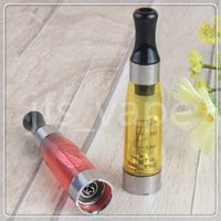 Wholesale Ce4 Cartomizer Cheapest - Cheapest CE4 eGo Atomizer 1.6ml Cartomizer tank electronic cigarette 510 thread for e cigs ego t battery evod battery