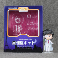 EMS 10cm Magic Kaito Detetive Conan Kid o ladrão fantasma PVC Action Fgure Collectible Model Toy frete grátis