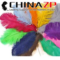 Wholesale Cheap Table Decorations For Wedding - Cheap Wholesale CHINAZP Crafts Factory 25~30cm(10~12inch) Bulk Multicolor Ostrich Feathers for Wedding Party Table Decorations