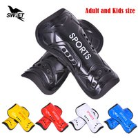 Wholesale Kids And Adult Soccer Shin Guard with Adjustable Band Leg Protection Shin Pads Football Protectors Shin Guards Soccer Shinguards