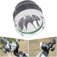 iluminación para bicicletas cree al por mayor-Mini luz de bicicleta T6 Cress faro bicicleta luz con CREE XML-T6 LED 10W 800LM llevó conjuntos de luz de bicicleta
