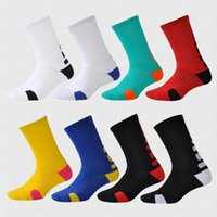 Wholesale cotton football socks for sale - Sports Socks Stockings Towel At The End Stocking Football Basketball Sock Short Tube In The Tubes Male qh