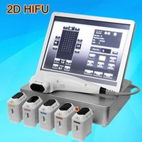 Wholesale Personal Press - Ultrasonic 2D HIFU for body slimming Beauty machine Personal skin Care High Intensity focused ultrasound HIFU a press 11 lines