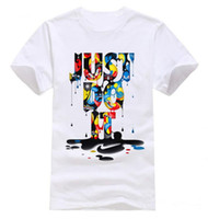 Wholesale Wholesale Clothes For Men - T-Shirts For Men Fashion New men's t shirt Just Do It Short Sleeve O neck Tops Tees camisa masculina brand clothing