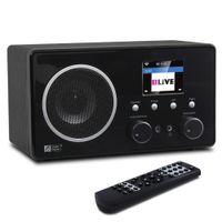 Wholesale Internet Homes - Wholesale-Ocean Digital Wooden Cabinet Color Display Multi-function FM DAB Radio WiFi Internet Radio Receiver Bluetooth