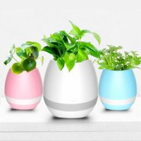 Flowerpot Wireless Bluetooth Speaker K3 Intelligent Plant Piano Music com LED colorido LED preço de fábrica