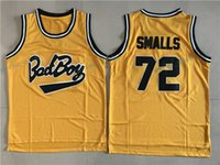 Wholesale Bad Boys - Biggie Smalls Bad Boy Basketball Jerseys Bad Boy Basketball Jersey Tune Squad Black Stitched Alien Moives Basketball Shirts Mens Cheap S-XXL