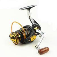 Wholesale Salt Waters Reels - Wholesale Fishing Reels Ocean Fish Design Metal Body Parallel Winding Patent Salt Fresh Water BQ 13BB Spinning Reel Free Shipping