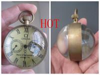 laiton mécanique achat en gros de-sphère de cristal de montre mécanique chinoise boule en laiton antique de Bell