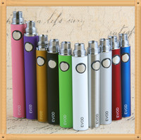 Wholesale Ce4 Atomizer Pcs - 5 Pcs eGo EVOD Battery ego Ecig Batteries 650 900 1100 mAh 510 Thread E cigarette Battery match evod mt3 CE4 Vaporizer Atomizer 100% Quality