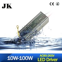 Wholesale Water Proof Led Power Supply - Wholesale- 2017 LED Driver Water Proof 10W 20W 30W 50W Adapter Transformer AC100V-265V to DC20-38V Switch Power Supply IP67 For Floodlight