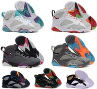 Chaussures de baskets femme chaussures de sport air retro 7 Bordeaux Olympic Tinker Alternate Hare University French Blue Cigar Cardinal GMP Raptor à bas prix