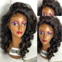 Wholesale Long Brown Wavy Wigs Prices - New Hair Style On Sale With Wholesale Price Brazilian Loose Wave Crochet Hair Side Part Wavy Full Lace Wig Natural Looking Wigs
