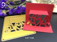 Wholesale Metal 3d Craft - METAL CUTTING DIES 3D love heart flower paper Scrapbook card album craft home decoration embossing stencil cutter
