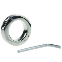 Wholesale erection rings - Metal Cock Ring Cockring Stainless Steel Rings On The Penis Sex Erection Penis Sex Delay Spray Sex Toys Products For Men Ring