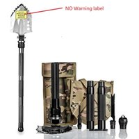 Wholesale Compact Aluminum - Folding Garden Shovel Multi-function Compact Ultra-durable for Camping Adventure Emergency