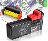 Wholesale Universal Battery Tester 1.5v 9v - 2016 Universal Button Battery Power Tester For C D AA AAA 9V 1.5V Button Cell New Design Power Tools