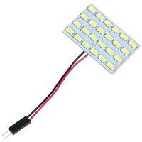 Wholesale Read Board - 3W 24 SMD 5730 LED Light Panel Board 12V Car Dome Interior Reading Lamp Light CEC_454