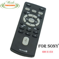 Wholesale Fastest Remote Control Car - Wholesale-For SONY RM-X153 Glove Box Kept Remote Control For Sony Car Stereos Ships Fast !
