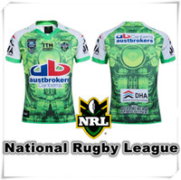 Wholesale Raider Team - (With Logo & name) 2016 AIG NRL Super Raider Rugby jersey England shirt teams Sport free shipping USA Wholesale Cheap Hot Sale