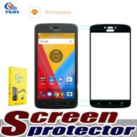 Wholesale Iphone 5c Screen Covers - Full Cover Tempered Glass for ZTE Max XL N9560 Zmax Pro 2 Z982 Z981 MOTO G5 Curved Cheap Screen Protector Film For iPhone X 8 Plus