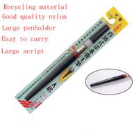 Wholesale Soft Box Large - Wholesale-Soft art Large Regular Script Nylon Hair Multi Function Pen Sets