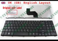 Wholesale Acer 5732 - New Laptop keyboard for Acer Aspire 5241 5332 5334 5516 5517 5532 5534 5541 5541G 5732 5732Z 5732ZG 5734 5734Z UK GB - NSK-GFB0U