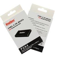 boîtes de rangement hd achat en gros de-En gros - KingSpec mSATA à USB 3.0 SSD Boîtier externe HD Disque dur Disque Boîte de stockage Adaptateur Support 30 mm * 50 mm B mSATA