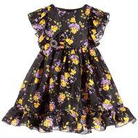 Wholesale Short Enfant - Girls Dress Kids Summer Clothing Brand Robe Fille Enfant Flowers Printed Baby Girls Costume Princess Dress Kids Dresses