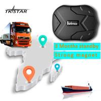 Wholesale Trucks China - TKSTAR TK905 GPS Locator waterproof IP66 vehicle GPS Tracker truck person 60 days long standby time powerful magnet lifetime free platform