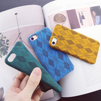 Wholesale Import Iphone Cases - For iphone6 6s 6plus 7 7plus cell phone cases 4.7 5.5 inch imported material handmade iphone shell with opp pangckage