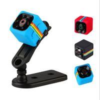 hd micro caméras vidéo achat en gros de-SQ11 Full HD 1080P Caméscope de vision nocturne Mini caméras de sport portables et portables Caméscope Cam DV (sauf la carte TF)