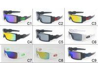 Wholesale Sun Wind Glasses - Super Cool Men's Classic Fashion Sunglasses Resin lenses Oil Rig Designers Sun Glasses Outdoor Sports Wind Goggle Eyewear