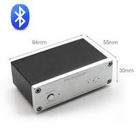 Wholesale Optic Speed - Freeshipping CSR 57E6 High-Speed HiFi Bluetooth Audio Receiver Output RCA Coaxial Optics For Digital Amplifier DC12V 1A