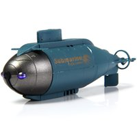 Wholesale Toy Submarines Radio Control - Wholesale- Oringinal Brand Model Toys 777-216 Fish Torpedo Design Pigboat Wireless 40MHz Radio Remote Control Submarine Model Toy Giftsy