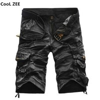 Wholesale wholesale men s work clothing for sale - Cargo Shorts Men Hot Sale Casual Camouflage Summer Brand Clothing Cotton Male Fashion Army Work Shorts Men Plus Size